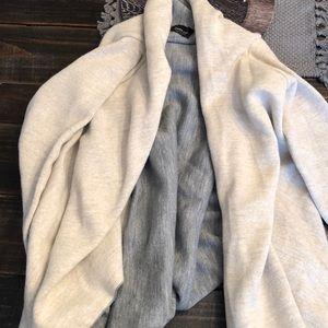 Asymmetrical Zara knit